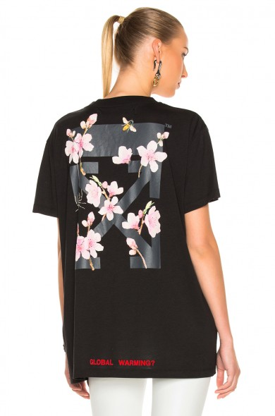 Off-White floral print shirt Free Shipping Buy JXGcefWf
