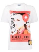 PRADA Desert Rose T-Shirt / slogan t-shirts