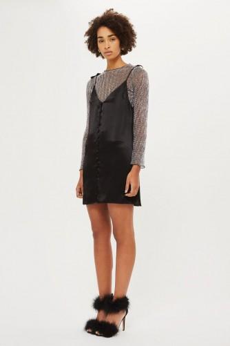 060ca55aa8a20 Topshop Black Cami Dress