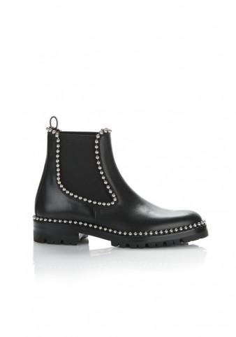Alexander Wang SPENCER CHELSEA BOOT   metal ball chain boots