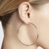 Spinelli Kilcollin LEELA HOOP EARRINGS ~ large chic hoops ~ stylish jewellery