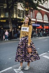 Outfit ideas from London Fashion Week Spring 2018