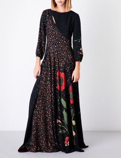 VILSHENKO Katia floral-print silk maxi dress - flipped