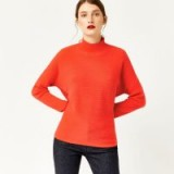 Warehouse BATWING RIB JUMPER | bright red jumpers