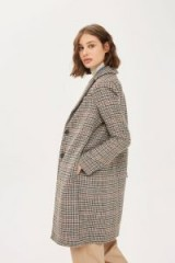 Topshop Heritage Check Coat ~ checked coats