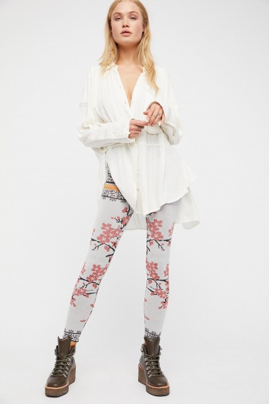 Free People Cherry Blossom Legging | sweet floral leggings