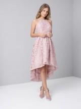 CHI CHI SARAI DRESS – crochet dip hem party dresses