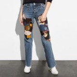 COACH 1941 Patched Jeans