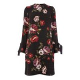 WAREHOUSE COUNTRY ROSE TIE CUFF DRESS ~ floral dresses