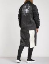 D.GNAK Spider-print shell bomber coat | long jackets