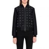 Elgin Metal Rings Bomber Jacket | black jackets