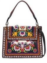 ETRO PRINTED LEATHER SHOULDER BAG – floral handbags