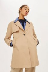 Topshop Girly A-Line Trench Coat / stylish coats