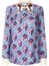 GUCCI GG Wallpaper blouse – printed blouses
