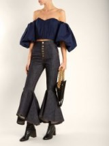 ELLERY Hysteria high-rise kick-flare jeans ~ chic flares