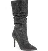 JESSICA SIMPSON Layzer Embellished Slouch Boot | crystal slouchy boots