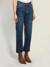 GOLDEN GOOSE DELUXE BRAND Komo high-rise straight-leg cropped jeans
