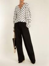 JACQUEMUS Le Grand Pantalon wide-leg wool trousers – smart black tailored trousers – wardrobe essentials