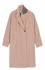 MADEWELL Atlas Cocoon Coat | pink winter coats