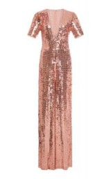 Temperley London Heart Charm Jumpsuit ~ pink sequinned jumpsuits