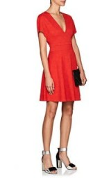 OPENING CEREMONY Jacquard Fit & Flare Dress ~ red dresses