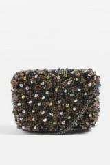 Topshop ORVIN Beaded Cross Body Bag | bead embellished crossbody bags