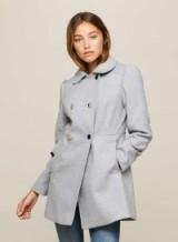 Miss Selfridge PETITE Grey Pea Coat