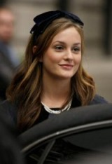 Leighton Meester as Blair Waldorf ~ gossip girls hair and beauty