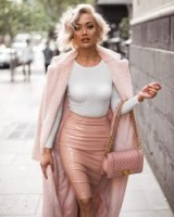 Glamorous pink outfit