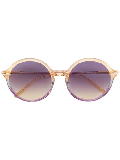 POMELLATO round gradient sunglasses / tinted eyewear