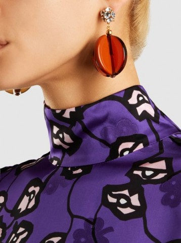 RACHEL COMEY‎ Holt Crystal Drop Earrings