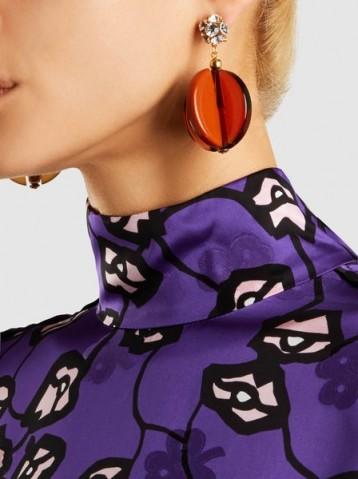 RACHEL COMEY Holt Crystal Drop Earrings