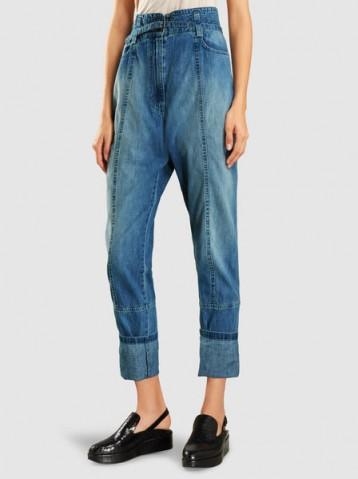RACHEL COMEY Lure Lightweight Denim Jeans ~ stylish high waisted jeans
