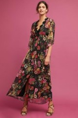 FARM Rio Laina Maxi Dress / long floaty floral dresses / romantic fashion
