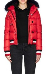 ROSSIGNOL Celeste Down-Quilted Bomber Jacket ~ red padded jackets
