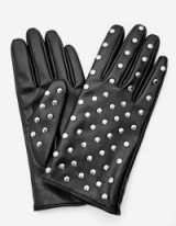 Stradivarius Smooth studded gloves