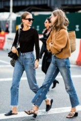 Casual street style in New York