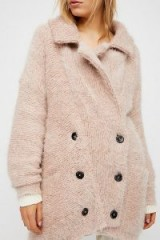 FREE PEOPLE Take Two Jumper Coat / luxe knitted jackets