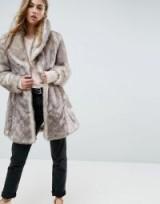 Unreal Fur Elixir Coat / soft touch fluffy coats