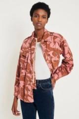 Urban Renewal Customised Vintage Overdyed Desert Camo Jacket ~ pink camouflage jackets