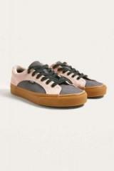 Vans Suede Gum Lampin Trainers ~ lilac sneakers