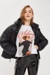 Whitney Houston T-Shirt / celebrity print t-shirts