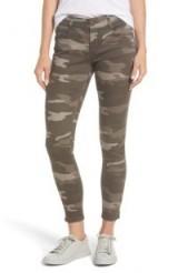 WIT & WISDOM Ab-solution Camo Stretch Ankle Skinny Jeans   camouflage print denim