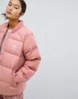 adidas Originals Pink Down Filled Padded Jacket