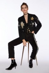 Nasty Gal After Party Vintage Justify My Love Jacket ~ jewelled jackets