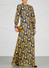 TORY BURCH Alice embroidered lace maxi dress – embellished occasion dresses – luxurious fabrics