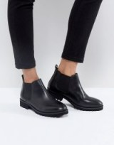 ASOS ANALISE Leather Chelsea Boots