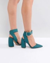 ASOS PACIFIC High Heels ~ green party shoes