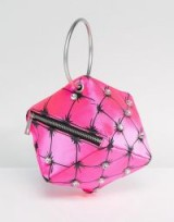 ASOS X Mary Benson Cube Clutch Bag ~ pink evening bags