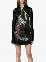ATTICO Stella embellished satin wrap dress | oriental style dresses